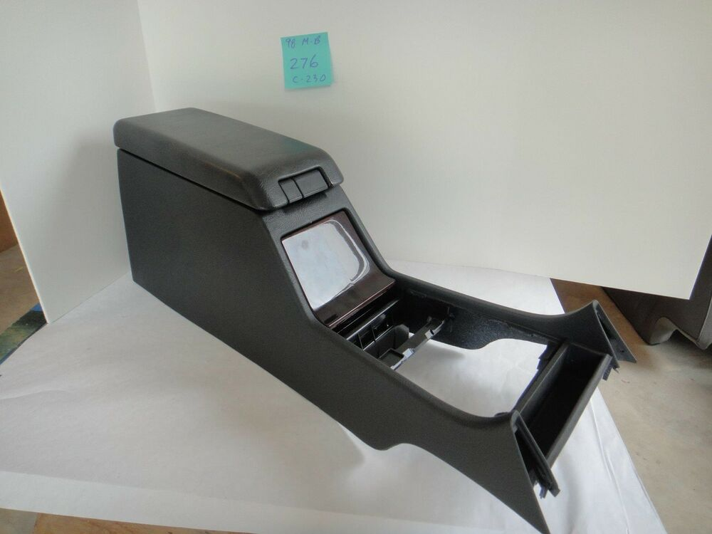 1998 mercedes benz c 230 center console w lid black for Mercedes benz center console lid