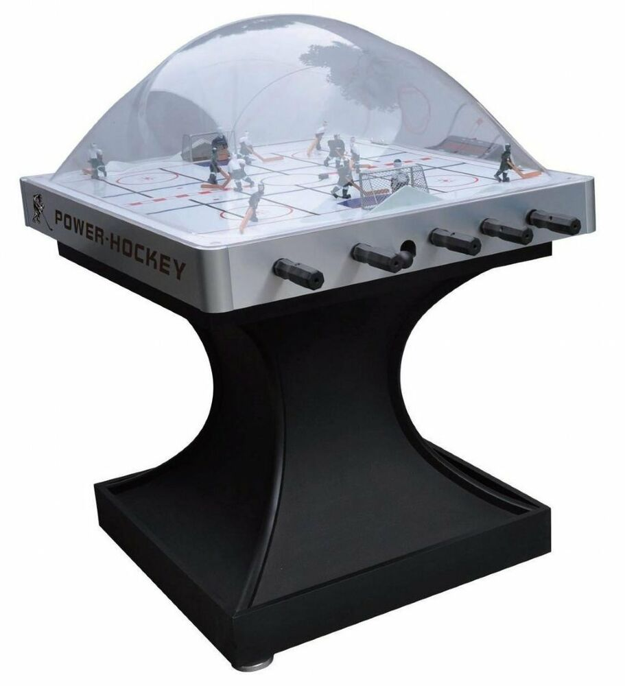 Power play dome bubble hockey game table by berner for Super table ld 99