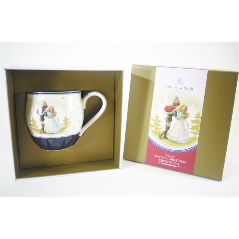 villeroy und boch annual weihnachten edition 2014 becher aschenputtel ed ebay. Black Bedroom Furniture Sets. Home Design Ideas
