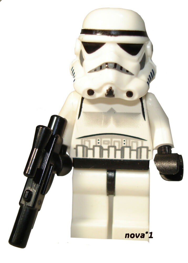 star wars lego stormtrooper 10188 original minifigure new ebay. Black Bedroom Furniture Sets. Home Design Ideas