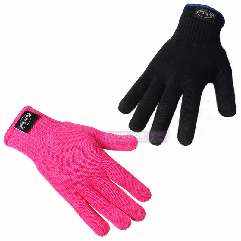 heat glove for hair styling heat resistant proof protection glove hair styling tool 6999