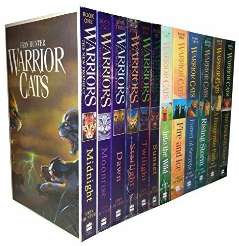 Warriors Of The Dawn Synopsis: Warrior Cats Collection Erin Hunter 12 Books Set The New