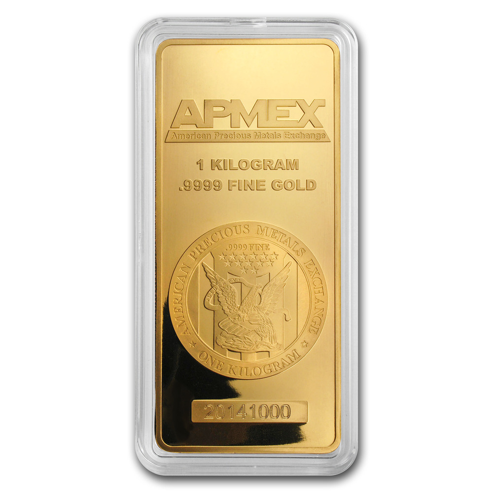 1 Kilo Gold Bar Apmex In Capsule Sku 80049 Ebay