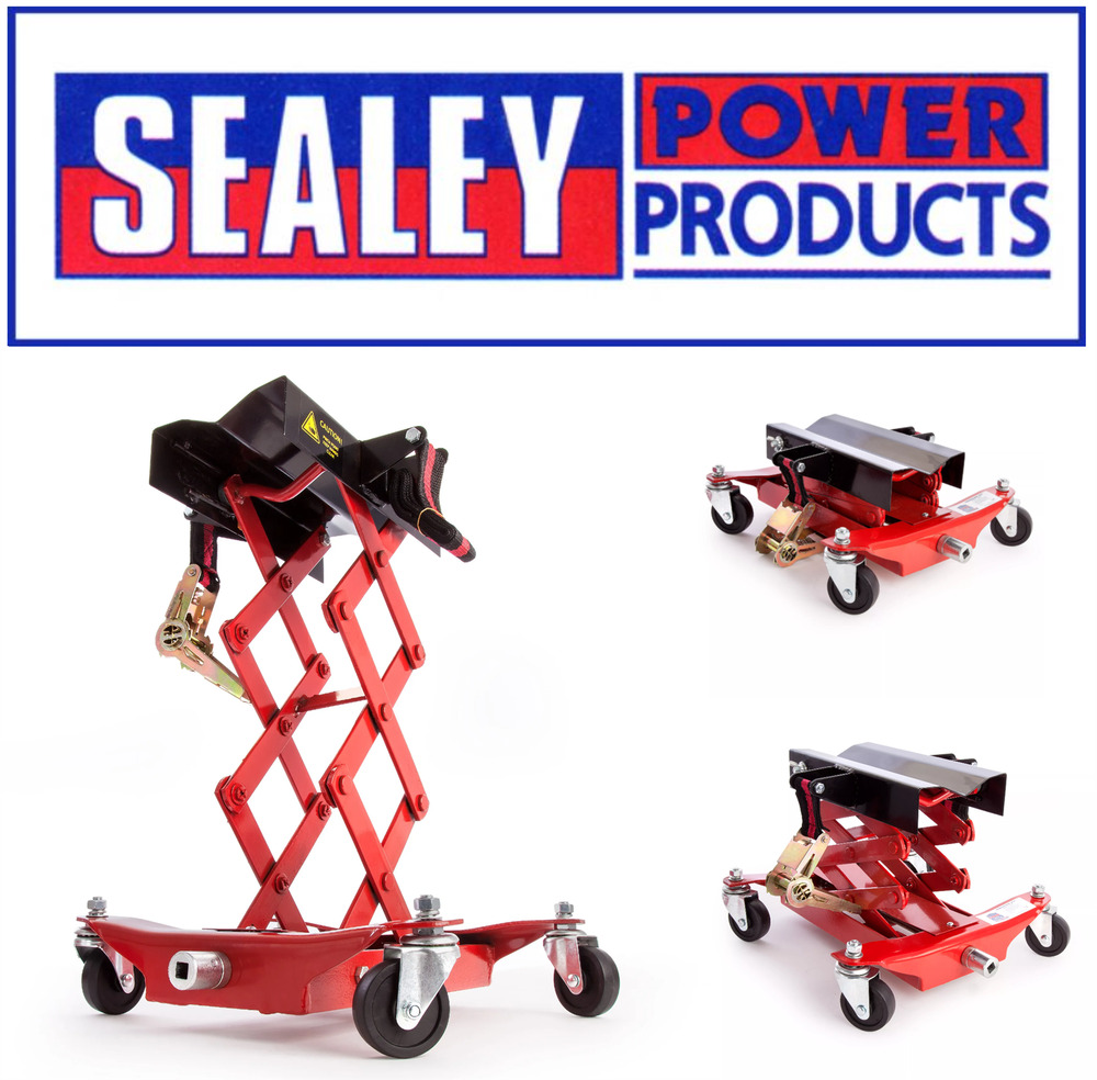 Sealey Floor Transmission Jack 150kg Tj150e 5051747732209