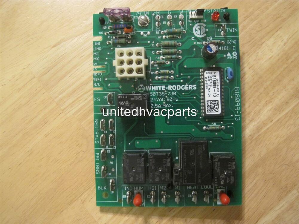 White Rodgers Circuit Board 50t35