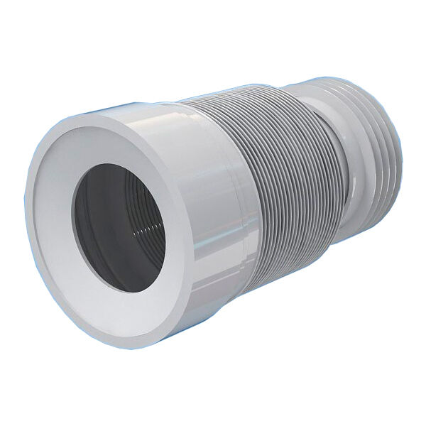 500mm toilet wc toilet waste pipe connector extension harmonica ebay