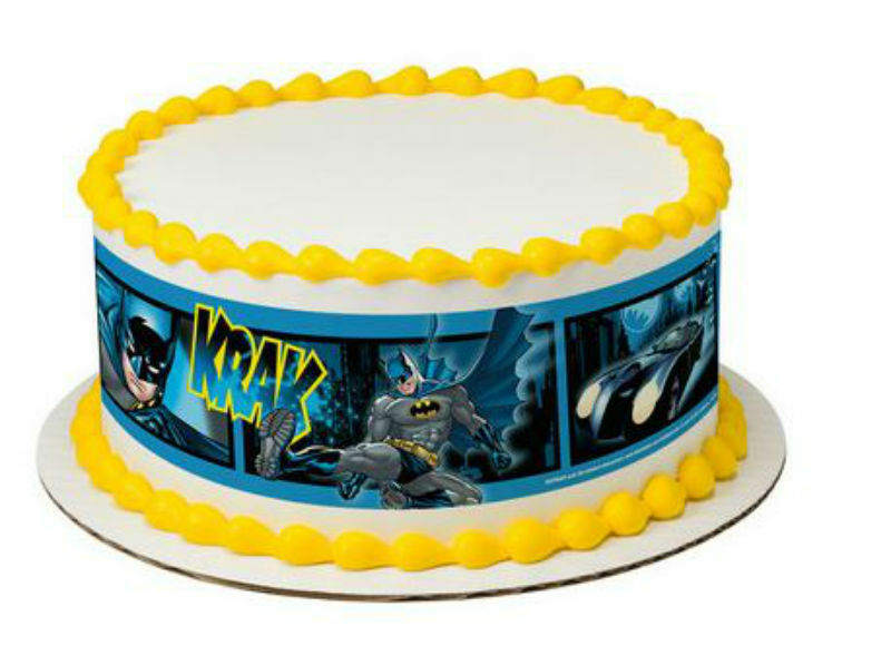 Batman Pow Cake