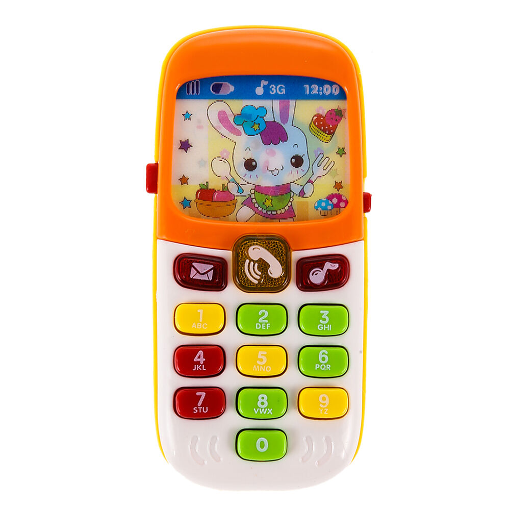 Toddler Toys Physical Toys : Kid baby infant music early learning mobile phone