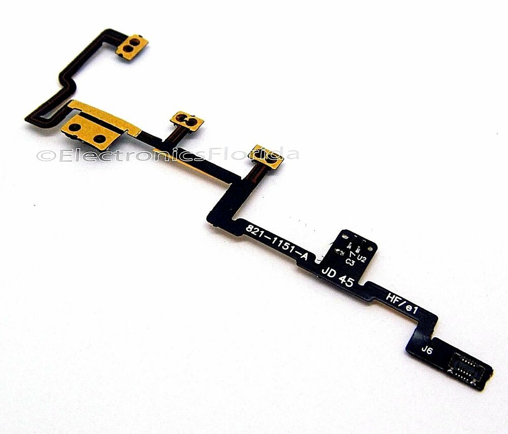 Ipad 2 Power Button Flex Cable Volume Cable Lock Cable For