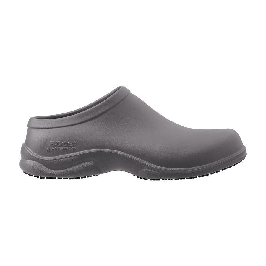 bogs s stewart casual slip on open back clog shoes