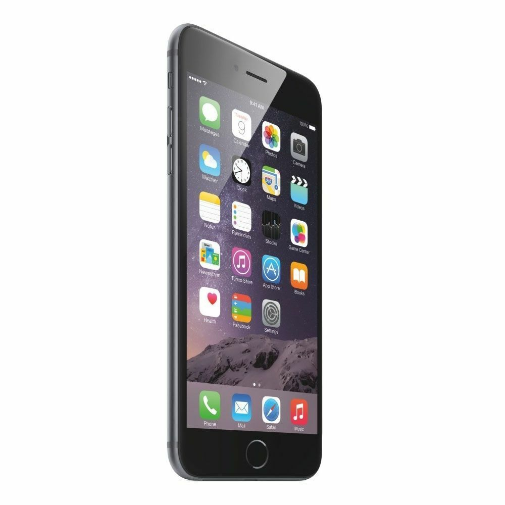 apple iphone 6 plus 16gb 5 5 retina display 8mp 4g lte unlocked space gray 885909950294 ebay. Black Bedroom Furniture Sets. Home Design Ideas