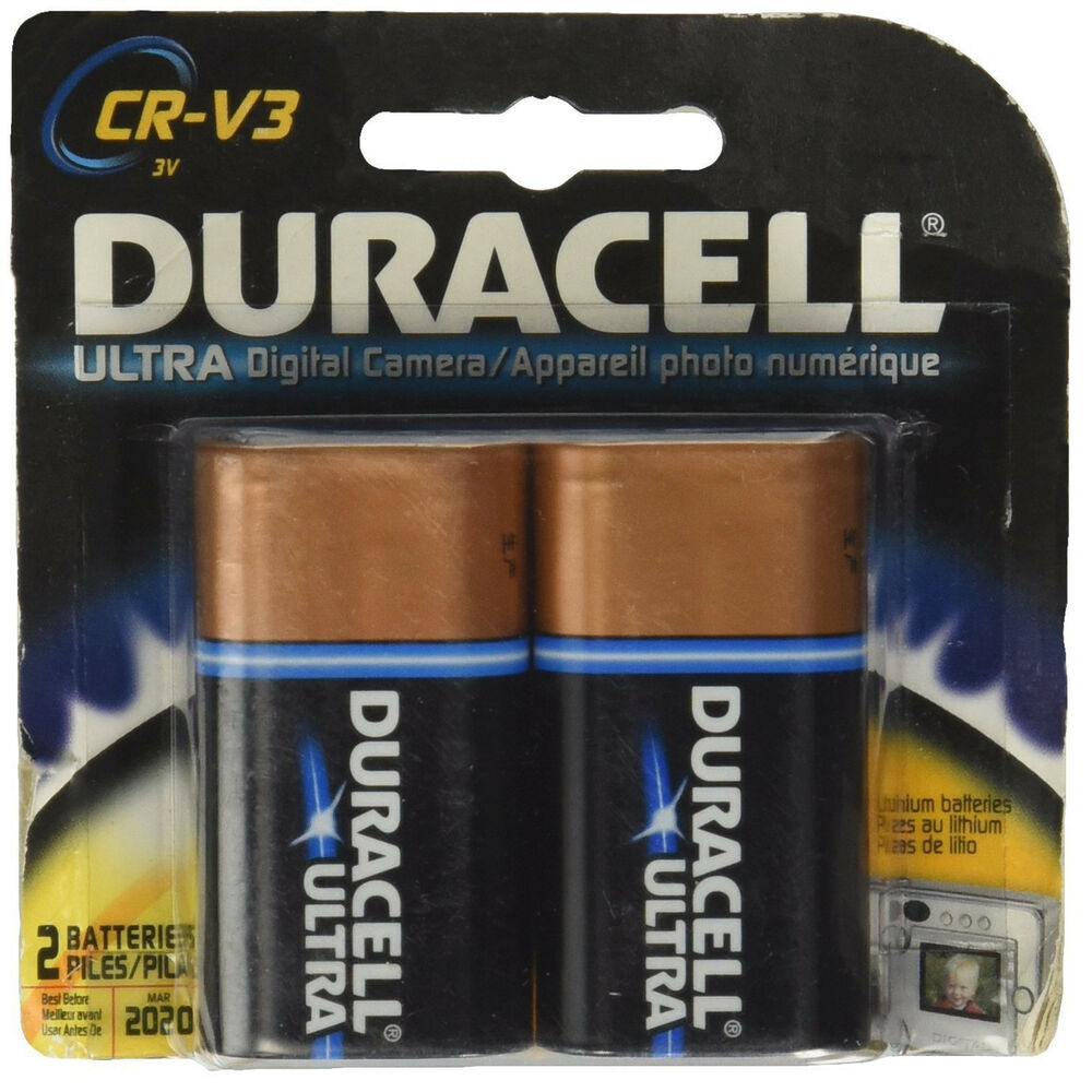 duracell ultra crv3 lithium long lasting 3 volt photo. Black Bedroom Furniture Sets. Home Design Ideas