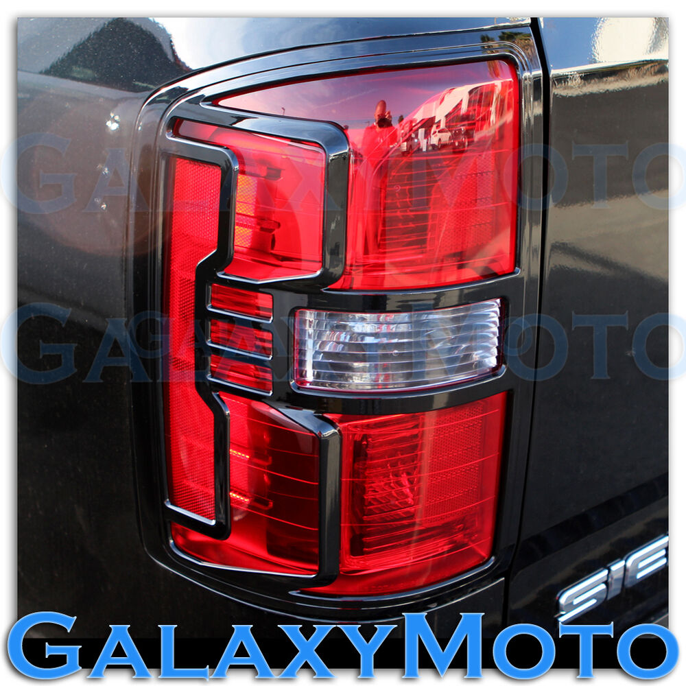 14 16 Gmc Sierra 1500 Truck Gloss Black Taillight Tail