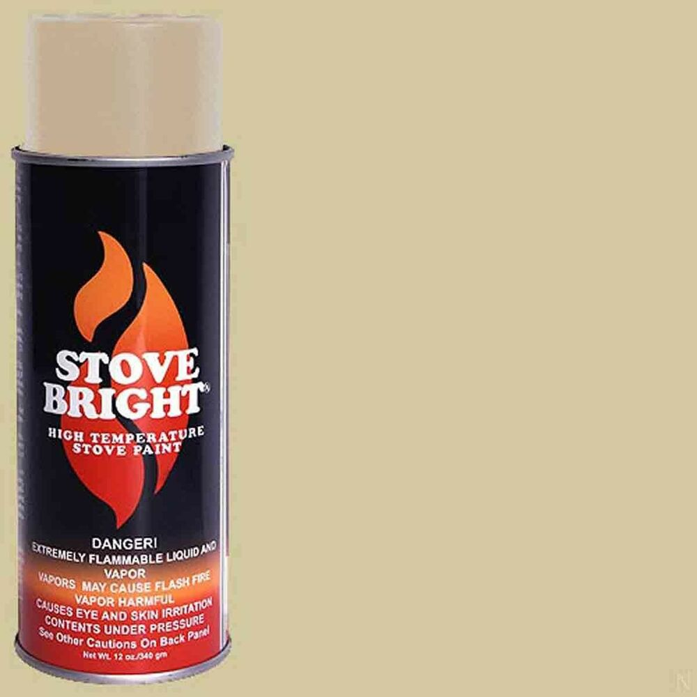 Stove Bright Fireplace High Temperature Paint Sand 1200 Degree 6307 Ebay