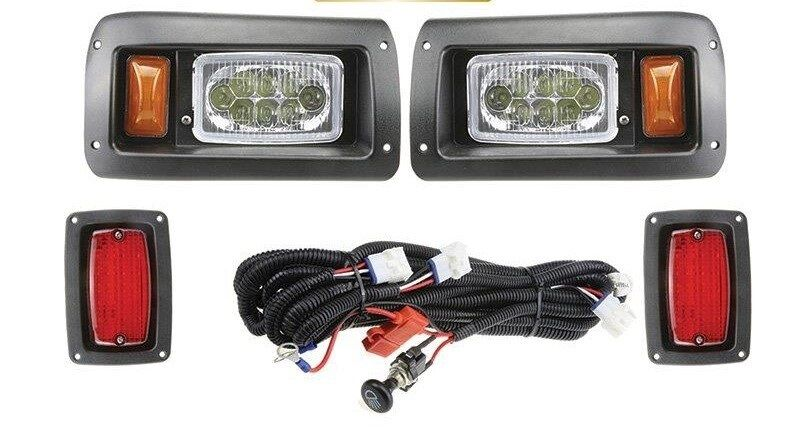 Club Car Precedent Golf Cart Full Led Headlight Taillight