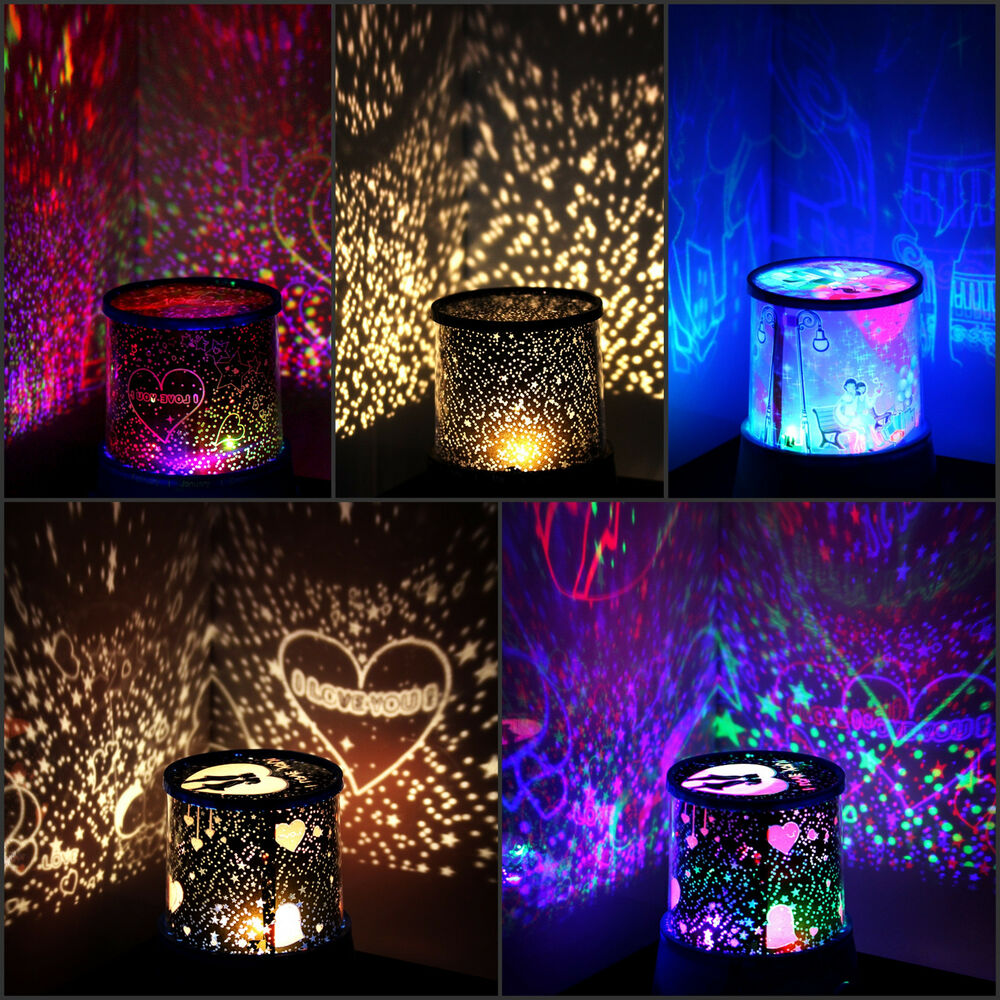 Romantic LED Starry Night Sky Projector Lamp Kids Gift ...