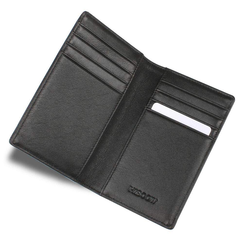 Classic Italian Real Leather Credit Card Holder Men S