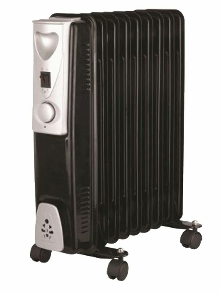 Electric Oil Radiator ~ Portable fin kw electric oil filled radiator heater