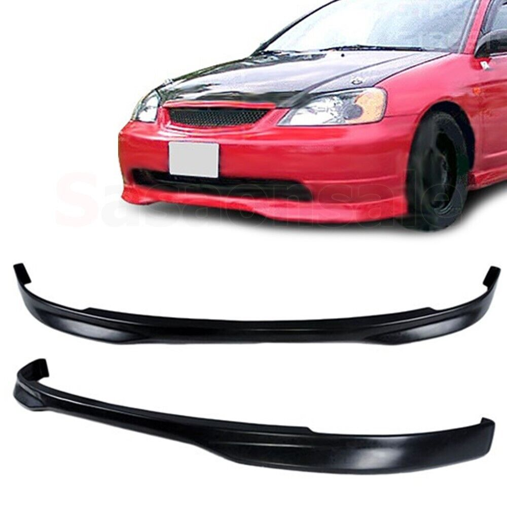 Aftermarket Honda Civic Front Add On Lip