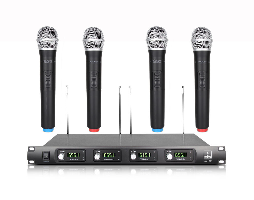S L on Shure Dual Wireless Microphone System