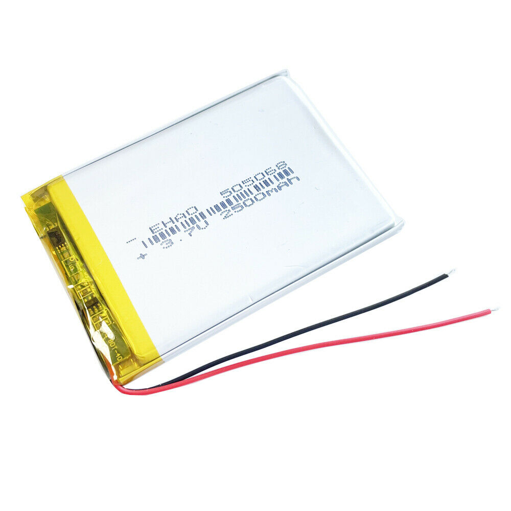 3 7v 2000mah rechargeable lipo polymer battery for power. Black Bedroom Furniture Sets. Home Design Ideas