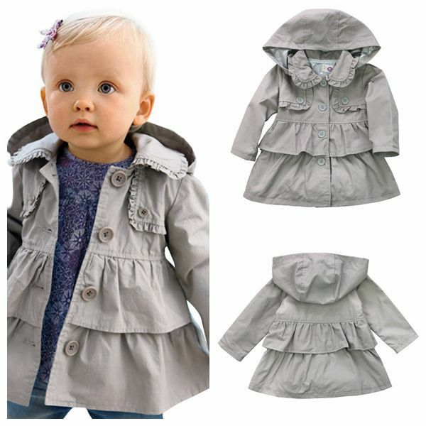 1445431a6 Classic Infant Toddler Girl Windbreaker Kids Girls Long Trench Coat For Spring  Autumn 2 9y On. Trench Baby Cute Rabbit Shape Play Mat Toddlers Animal  Sleep ...