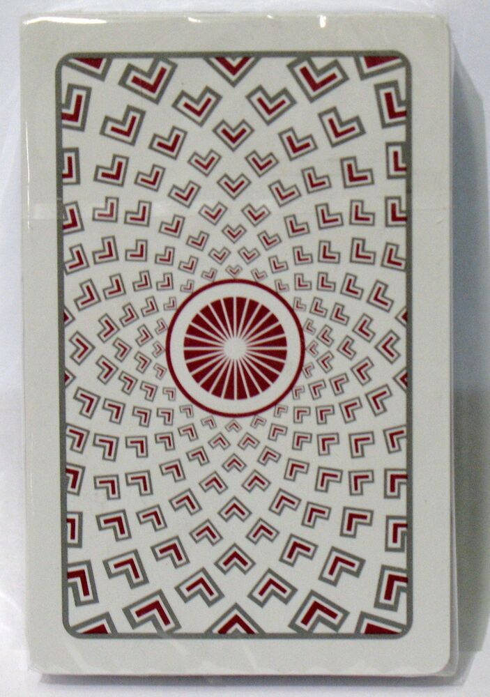 Kem Red Pantheon Deck Playing Cards Bridge Size Regular