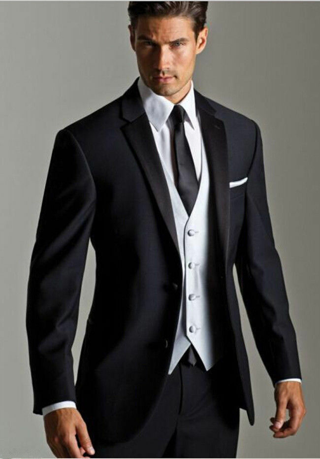 2018 New Black Men S Wedding Formal Occasion Tuxedos