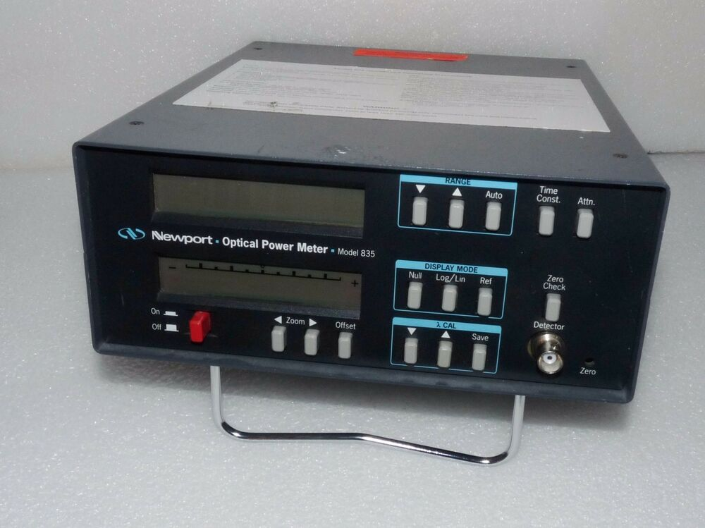 Newport Digital Meter : Newport laser pico watt digital optical power meter ebay