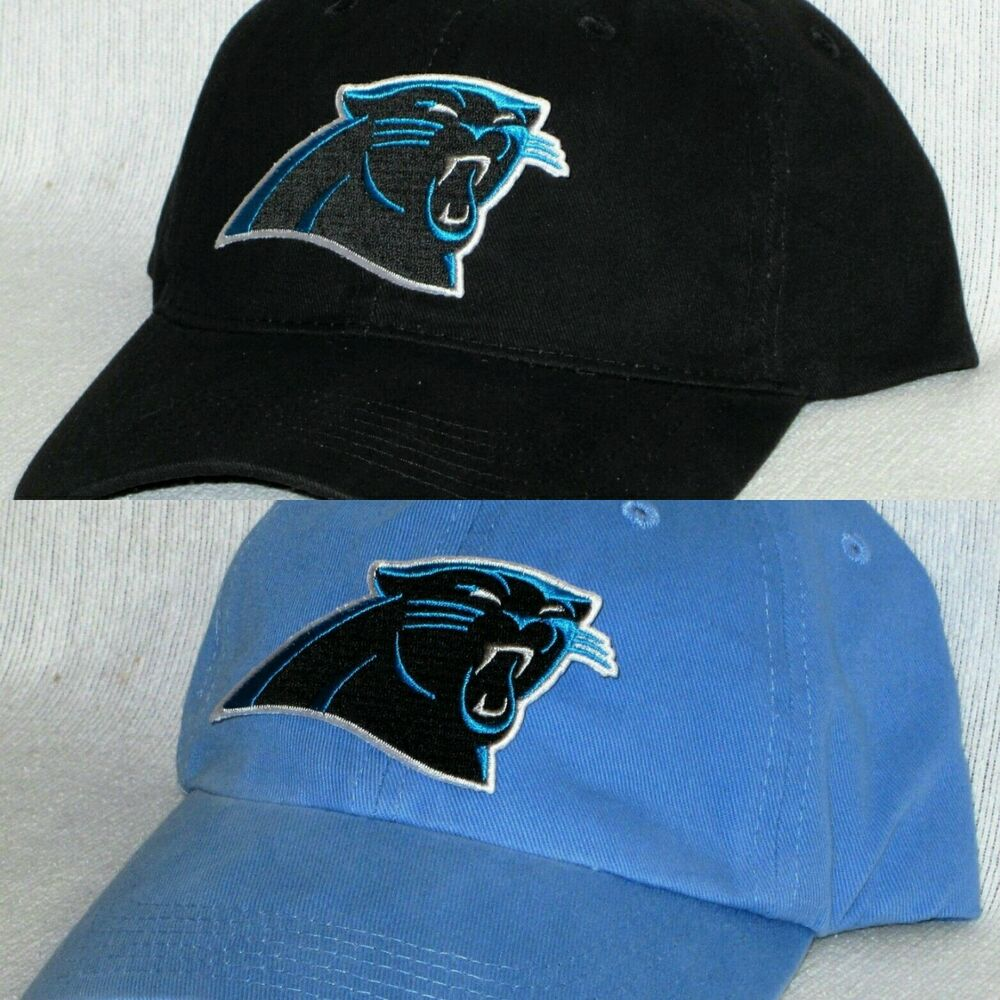 Carolina Panthers Polo Style Cap Hat Classic Nfl Patch