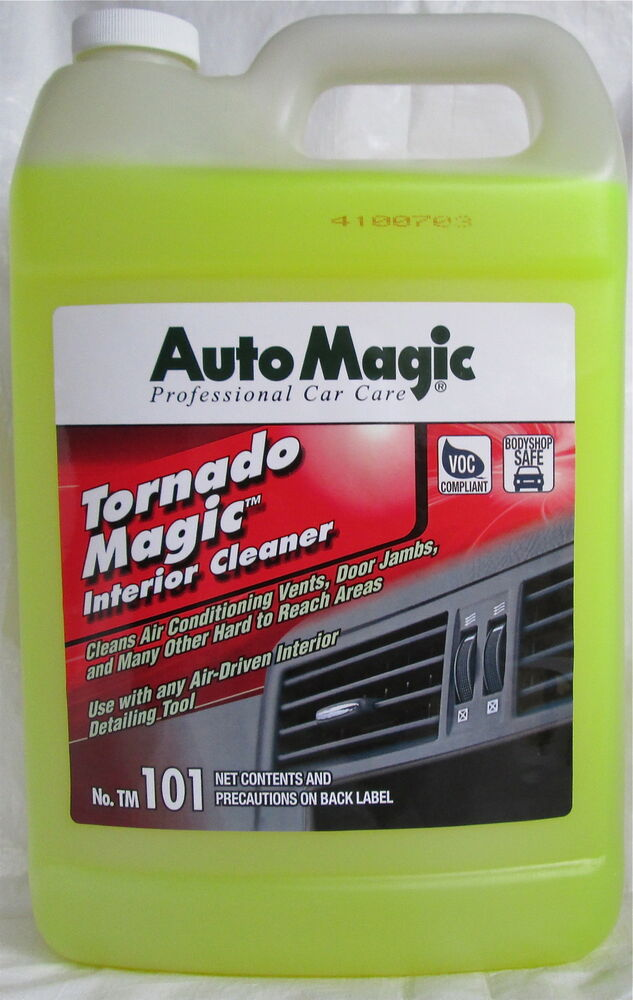interior cleaner tornado magic by auto magic for tornador tool manual 1 gal ebay. Black Bedroom Furniture Sets. Home Design Ideas