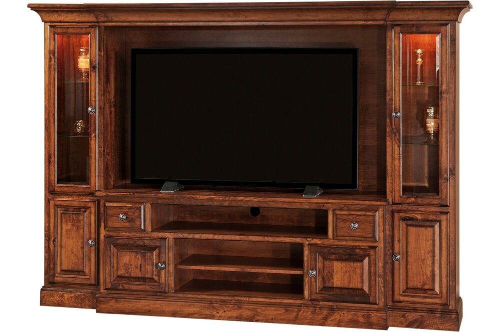 Amish Kincade Traditional Tv Entertainment Center