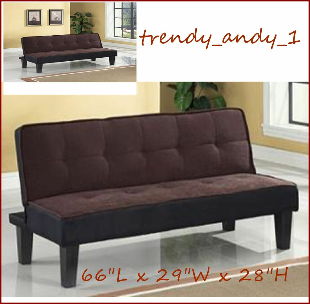 futon adjustable sofa guest sleeper bed living room apartment home