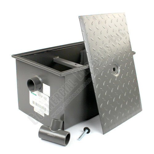 Industrial Kitchen Grease Trap: WentWorth 20 Pound Grease Trap Interceptor 10 GPM Gallons