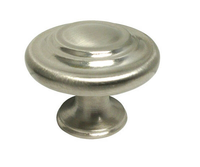 Satin nickel brushed nickel kitchen cabinet round ring for 4 kitchen cabinet handles