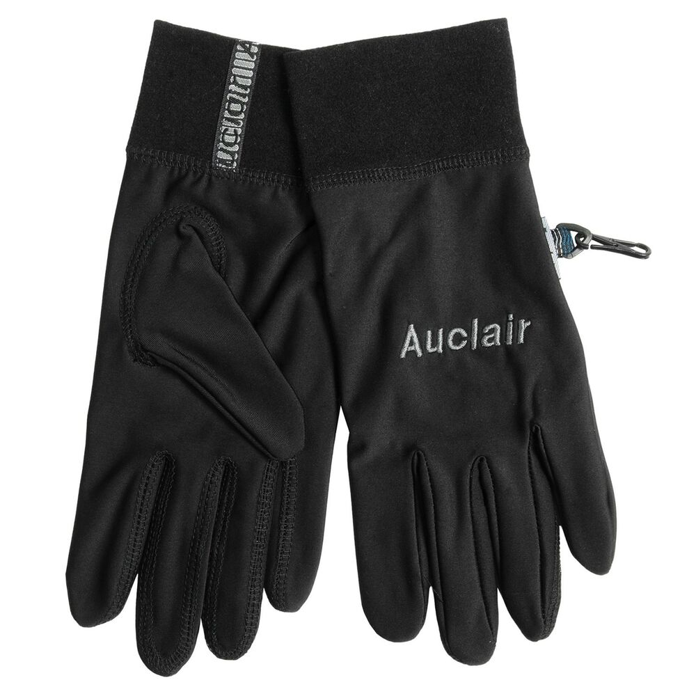 Auclair polytex fleece liner winter sports lightweight ice for Winter fishing gloves