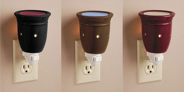 Ceramic Electric Plug In Wax Melter Night Light Scented