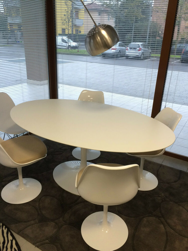 tavolo tulip ovale design eero saarinen table tutte le