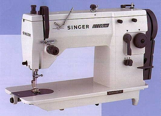 NEW Singer 40U40 Industrial ZigZag Sewing Machine Complete With New Industrial Zigzag Sewing Machine