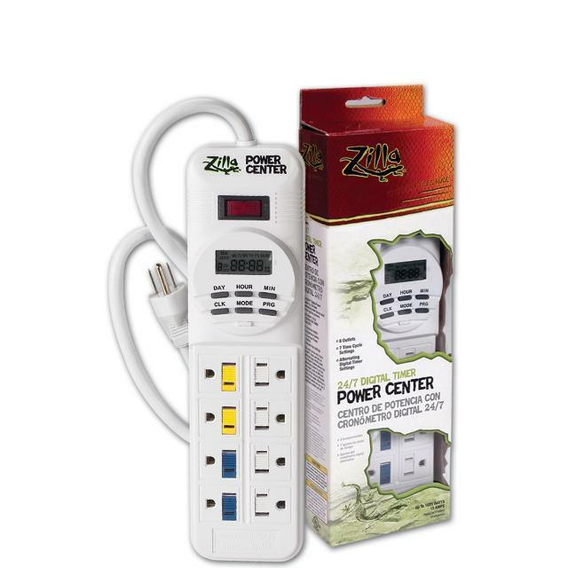 Digital Power Timer : Zilla reptile outlet digital power center timer ebay