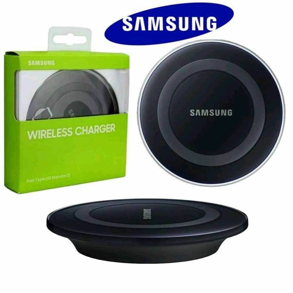 samsung galaxy s7 s7 edge s6 s6 edge qi wireless charger charging pad plate ebay. Black Bedroom Furniture Sets. Home Design Ideas