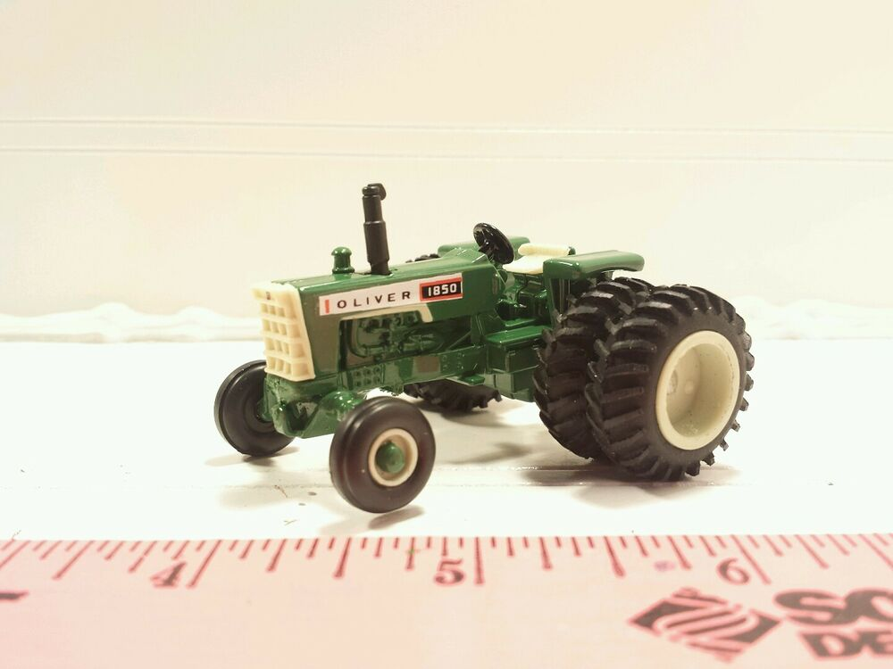 Oliver S Tractor Dual Wheels : Ertl custom agco white oliver wf tractor w