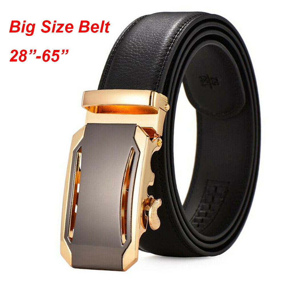 top quality mens business belts golden cowhide