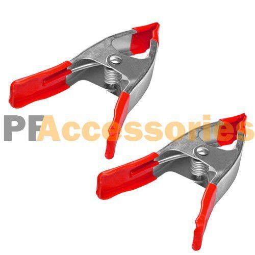 Pcs quot inch metal spring clamps w rubber tips tool