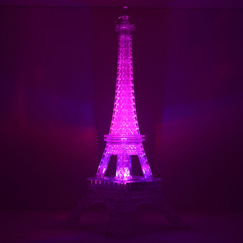 Romantic Eiffel Tower Color Changing Led Night Light Bedroom Home Decoration Be Ebay