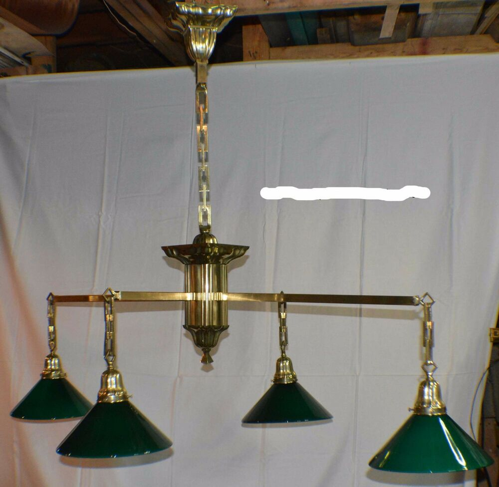 Antique Pool/Brunswick/Billiard Table Light Sheffield