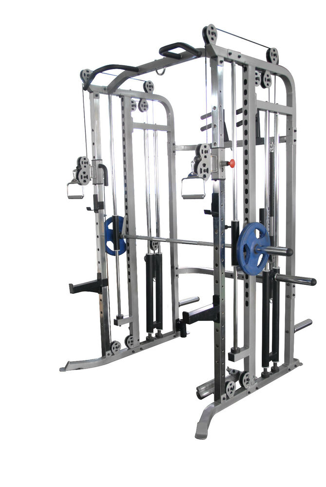 commercial power rack multi power cage pull ups smith. Black Bedroom Furniture Sets. Home Design Ideas