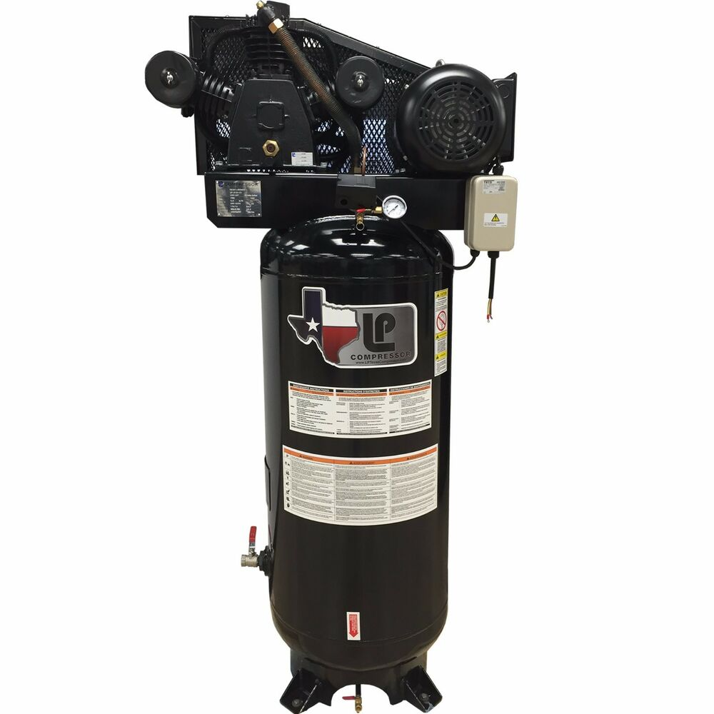 5-HP Two-Stage Air Compressor with Magnetic Starter 60