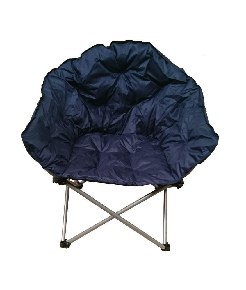 FREEPOST OUTBACK FOLDING CLUB CAMPING CHAIR Strong MOST fortable Best Padd
