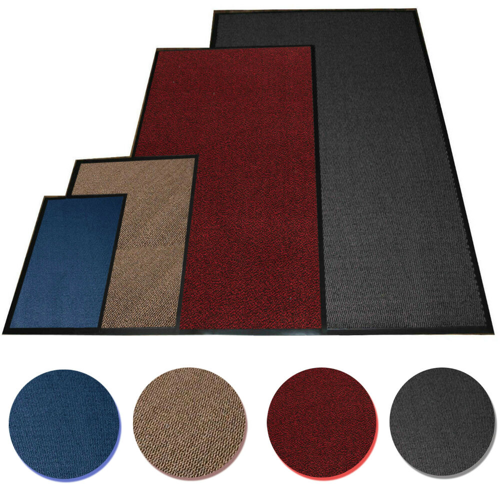 Rubber Kitchen Mats: Large Medium Small Heavy Duty Barrier Mats Non Slip Rubber